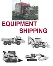 Equipment Shipping